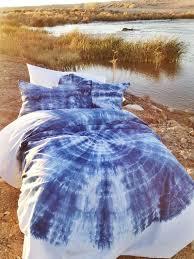 bohemian kaleidoscopic blue duvet set twin xl twin or full queen king