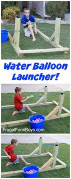 how to build an awesome water balloon launcher that the whole family will love