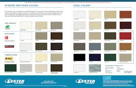 Efficient Nucor Buildings Color Chart 2019