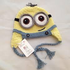 Minion Hat Crochet Pattern Custom Crochet Minion Hat Ruby Custard