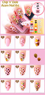Chip and Dale Nail Art | nailbees