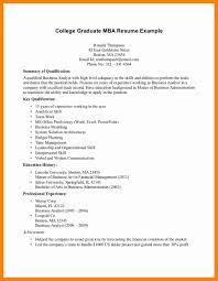 8 College Graduates Resume Examples Letter Signature