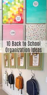 diy homework organization and homework station ideas to make homework this school year a breeze