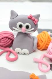 Cake Decorating Animal Figures 17 Best Ideas About Fondant Cat On Pinterest Fondant Animals