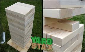 Wooden Yard Games Yard Stax Game Review Outdoor Game Reviews Game Descriptions 51