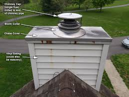 chimney chase cap defect