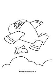 Onderwerp Lucht Beroepen Gratis Kleurplaten Downloaden En Printen