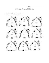 Christmas Multiplication Worksheets 5th Grade Christmas Math