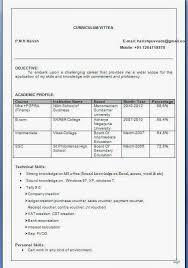 Latest Resume Format For Hr Freshers Sample Resume Job