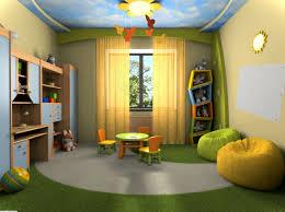 ... Kids Room, Kids Bedroom Lovely Outdoor Children Bedroom Theme With  Green Rug Colourful Kids Room ...