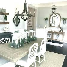 farmhouse dining room ideas farmhouse ning room wall decor ideas chandelier and tips modern rustic farmhouse