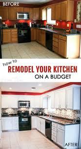 Kitchen Remodel Under 5000 Remodel Your Kitchen Minimalist Mikegusscom