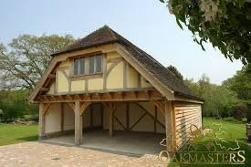 garage with office above. oak garages u0026 outbuildings three bay framed garage with studio above crafted by oakmasters office o