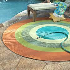 elegant circular outdoor rugs round patio rug