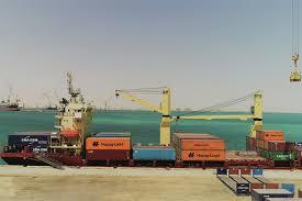 port company color chart hapag lloyd makes its debut at port of duqm construction