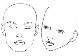 makeup drawing template mac makeup face charts blank template mac makeup template mac makeup face chart
