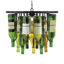 Wine Bottle Light Fixture Roost Pendants Recycled Wine Bottles By The Way How Cool Is That