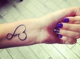 Tattoo Am Unterarm Love Aufschrift Kunstvoll Tattoo Dezentes
