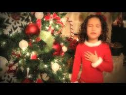 All I Want For Christmas is You - 7 yr old Rhema Marvanne..Truly ...