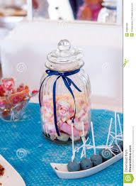 Marshmallows In A Jar Stock Photo Image Of Baby Decorated 46882990
