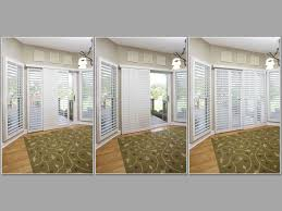 Front Door Window Coverings Interior Interesting Plantation Blinds Lowes For Captivating