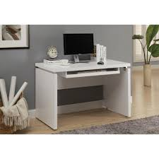 awesome monarch specialties computer desk with keyboard tray white by wonderful monarch specialties matte white desk with keyboard tray i 7053