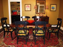 dining room rug rooms red wood furniture slipcovers grey hook oak and ac red dining room