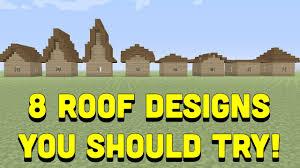 Cool Minecraft Roof Designs