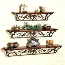 decorative metal wall shelf floating shelves metal wall mounted decorative metal wall shelf brackets decorative metal