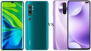 مقارنةXiaomi Mi Note 10 pro و Xiaomi Redmi K30 وعرض مميز لأهم الامكانيات