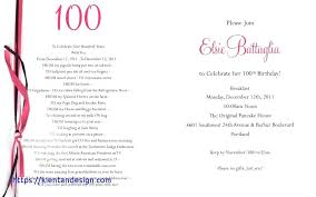100th birthday party invitation wording birthday invitation wording new nice sle party invitation templates embellishment exle