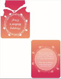 Quarter Fold Card Templates Mothers Day Card With Poppy Quarter Fold