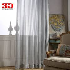 Striped Living Room Curtains Compare Prices On Grey Striped Curtains Online Shopping Buy Low