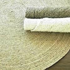 home design 6 foot round rug pad bathroom runner