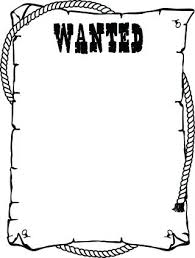 Wanted Poster Template For Pages Wanted Poster Template With Bullseye Vector Free Download Fbi Most