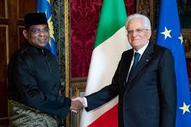 Malesia. Nuovo Ambasciatore Abdul Malik Melvin Castelino presenta  credenziali a Mattarella