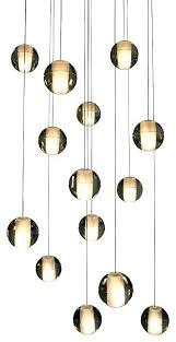 hanging glass chandelier glass chandelier attractive glass ball pendant light light floating glass globe