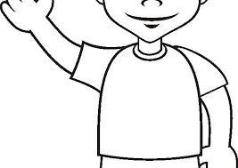 Small Picture coloring page boy wwwbloomscentercom