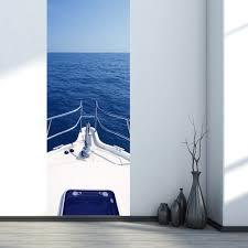 Funlife Motor Yacht Auf Die Ozean Diy Tür Aufkleber Pvc Wasserdichte