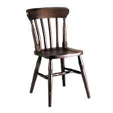 Fully solid beech chair for bars and pubs IDFdesign
