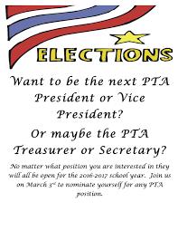 Pta Elections Flyer Pta Elections Flyer Barca Fontanacountryinn Com