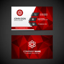 visting card format business card template vector free download