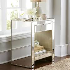 diy mirrored furniture. Diy Mirrored Nightstand Modern Furniture