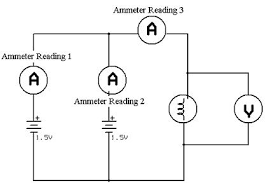 ohm's law i activity www teachengineering org Electrical Series Wiring Diagram electrical circuit diagram showing how to connect two 1 5 volt batteries in parallel to a light electrical wiring in series diagram