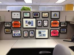 office cubicles walls. keep your cubicle walls classy with matching frames in various sizes to create a coordinated office cubicles
