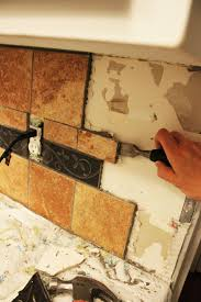 how to remove tile backsplash without damaging drywall drywall kitchens and ceramic tile backsplash