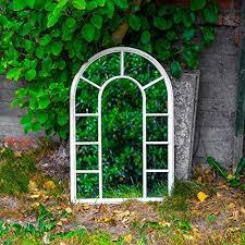 outdoor garden mirrors