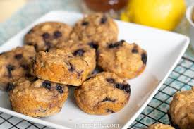 Healthy Lemon Blueberry Muffins (21 Day Fix, Weight Watchers ...