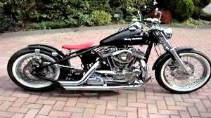 harley davidson 1200 sportster bobber chopper uk hard tail youtube