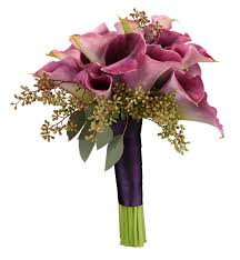 out of the box bouquet with purple calla lilies toni s flowers and gifts tulsa